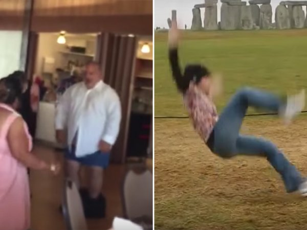 Funny FAIL GIFs of people dancing