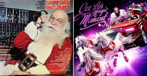 Terrible Christmas Album Covers