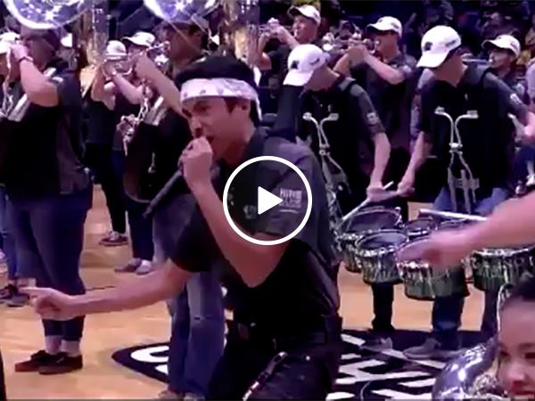 Bad NBA Halftime Show | Basketball Performance Gone Wrong