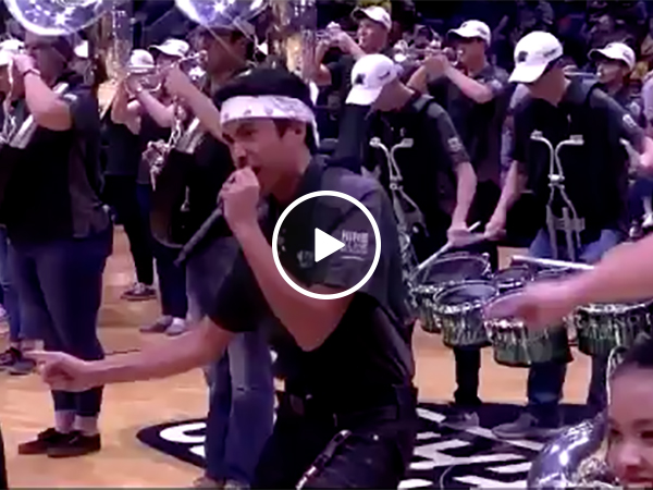 Bad NBA Halftime Show | Basketball Performance Gone Wrong