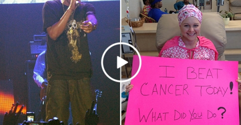 Jay-Z Shares Special Moment With Cancer Survivor at His Concert