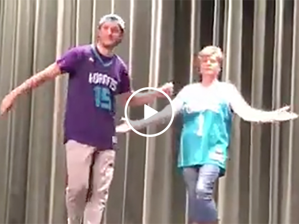 Mother and Son Dance To Some of the Greatest Music Hits