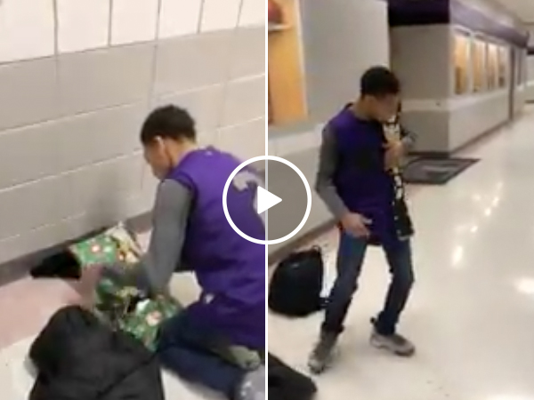 Special Needs Kid Surprised With Championship Belt