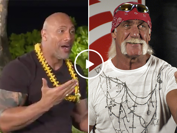 Hulk Hogan Does a Great Favor for The Rock When He Was Young