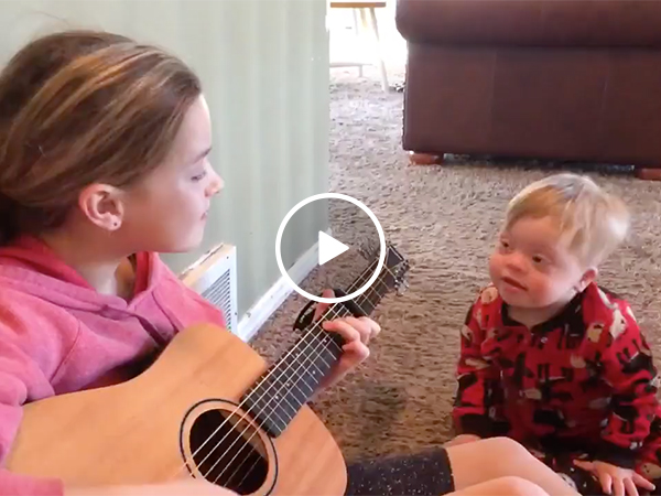Brother and Sister Singing Duet | Talented Special Needs Child