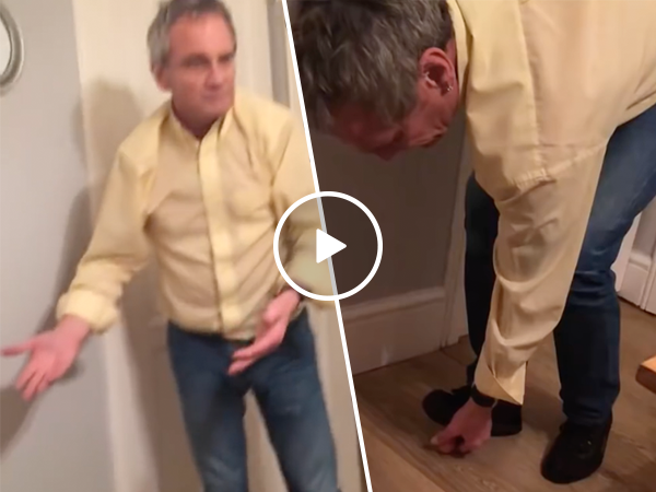 Man tries to stand on an egg, hilariously fails (Video)