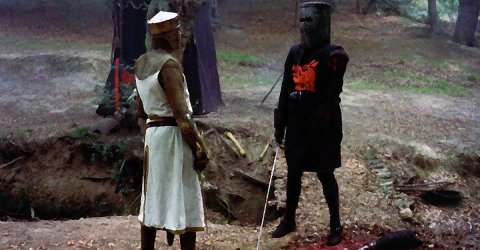 Monty Python will always help you look on the bright side of life