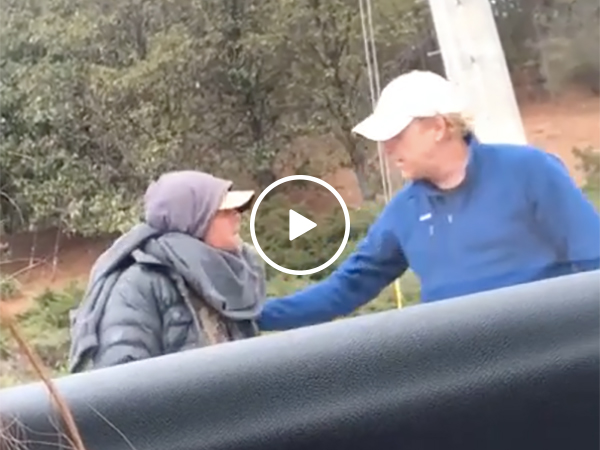 Man Shows generosity To Poor By Giving Up His Coat