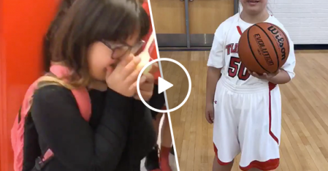 Manager with special needs plays in final game of season (Video)