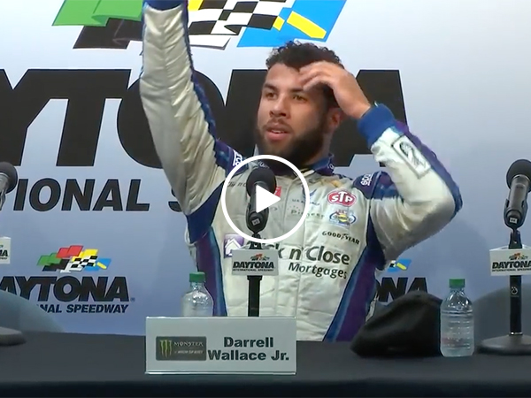 NASCAR driver Bubba Wallace Jr. Finishes 2nd at Daytona 500