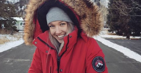 British Olympic skier Rowan Cheshire is seriously cute in South Korea