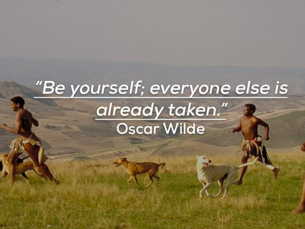 Important quotes about being yourself