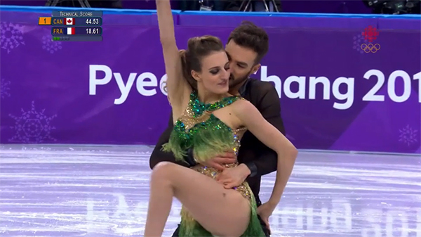french figure skater suffers nip slip at olympics finishes like a pro xx photos 1 French figure skater suffers nip slip at Olympics, finishes like a pro (23 Photos)