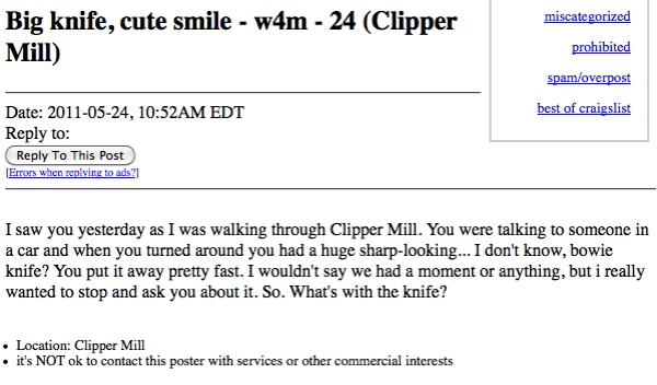 best missed connections funny hilarious bizarre 0 The best worst Missed Connections found on Craigslist (22 Photos)