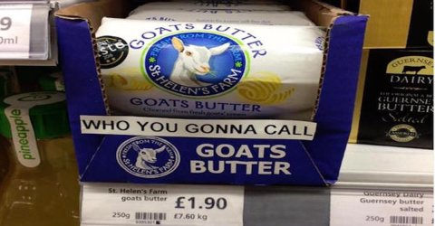 The British certainly have a unique sense of humor