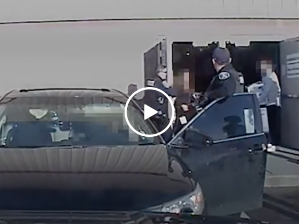 Robbers Get Caught By The Police Before They Can Get Away