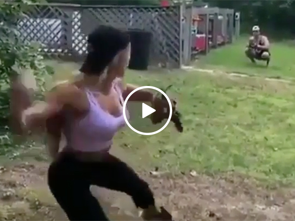 Sexy Baseball Girl Throws A Nasty Fastball And Is Very Hot