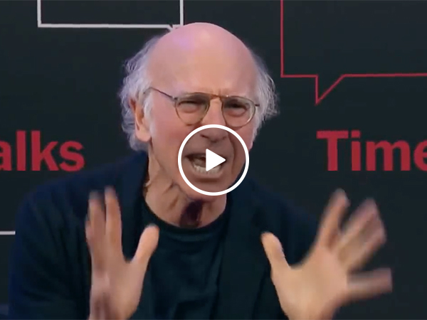 Larry David Gets Annoyed By Fan Who Brings Up A Weird Question