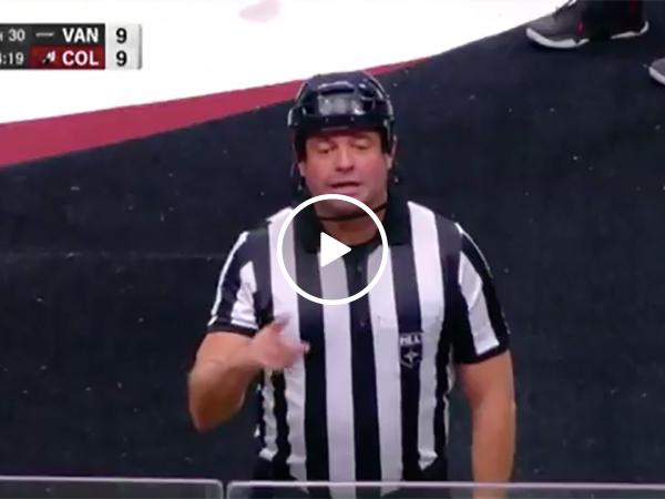 Major League Lacrosse Referee Calls A Very Unique Penalty