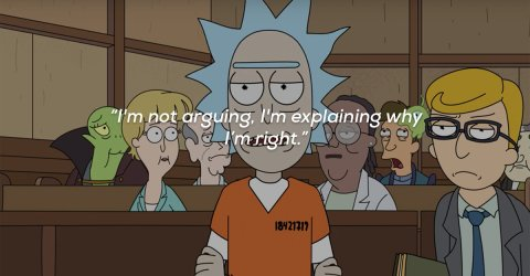Funny and witty quotes from Rick from Rick and Morty