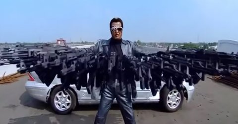 Indian film action scenes are hilarious