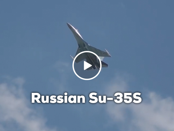 Russian SU-35S is some kind of black magic (Video)