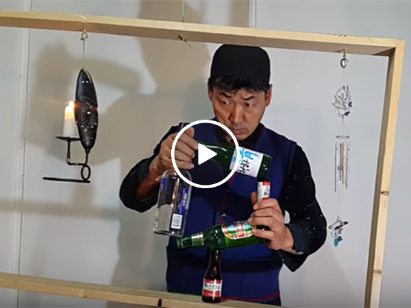 Guy juggles Bottles, Cans, Wood, Planks, and Much More
