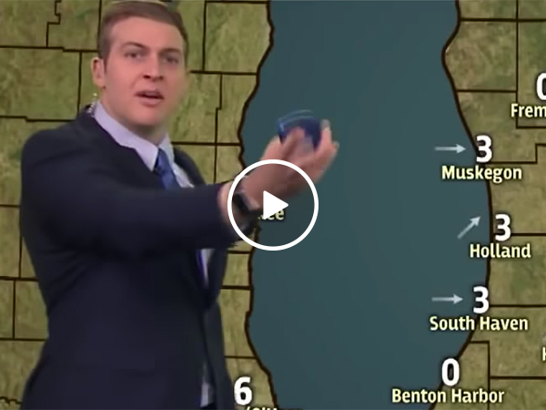 Grand Rapids Weatherman Gets Mad At Pessimistic Co-Hosts