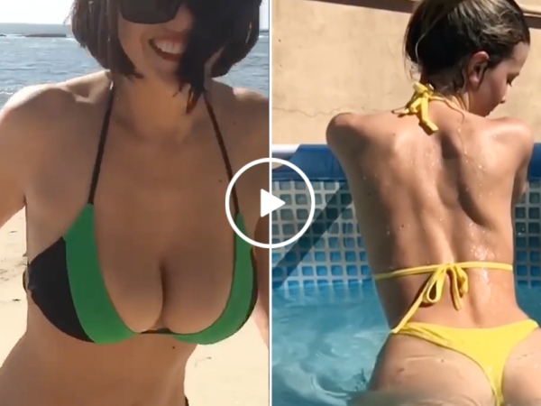 A sexy girl compilation to get your heart engine revving (Video)