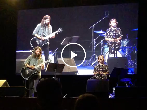 Dave Grohl's daughter Sings Just Like Her Foo Fighters Father