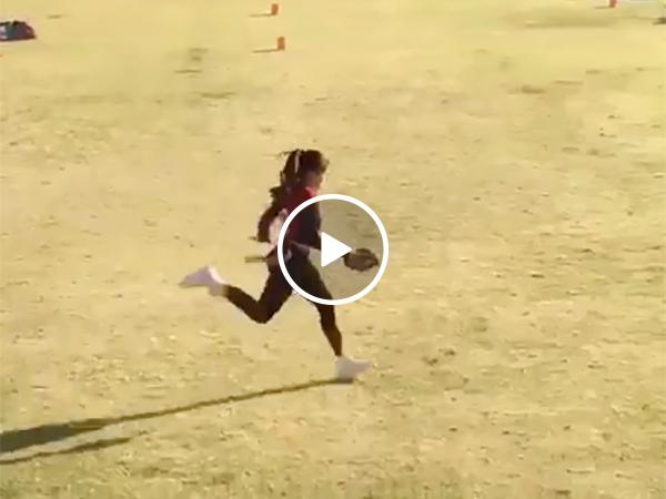 Football Playing Girl Breaks Ankles Like Ezekiel Elliott