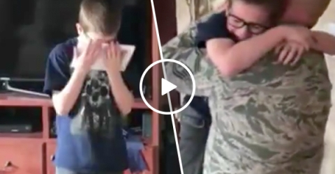 Homecoming birthday surprise is an emotional rollercoaster reveal