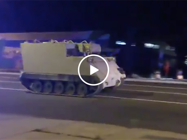 Cops Chased After A Tanker That Was Stolen From A Military Base