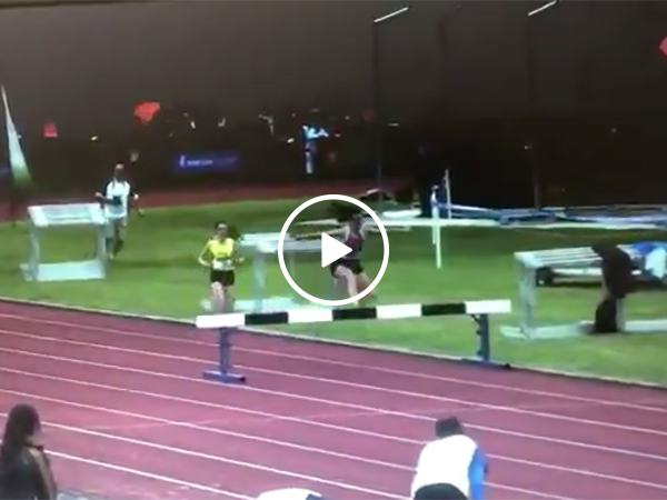 Steeplechase Racer Overcomes A Fall To Win The Gold Medal