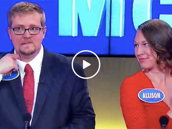 Family Feud contestant gives raunchy sex answer that pisses off wife