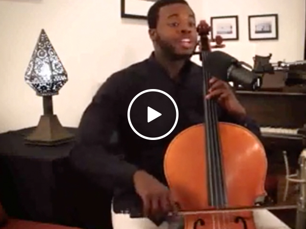So, beatboxing while playing a cello sounds awesome (Video)