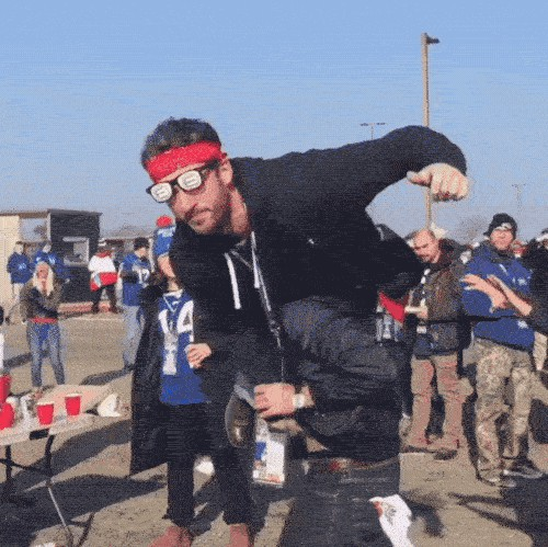 Pour One Out For Bills Fans Table Slamming Finally Made Illegal Thechive