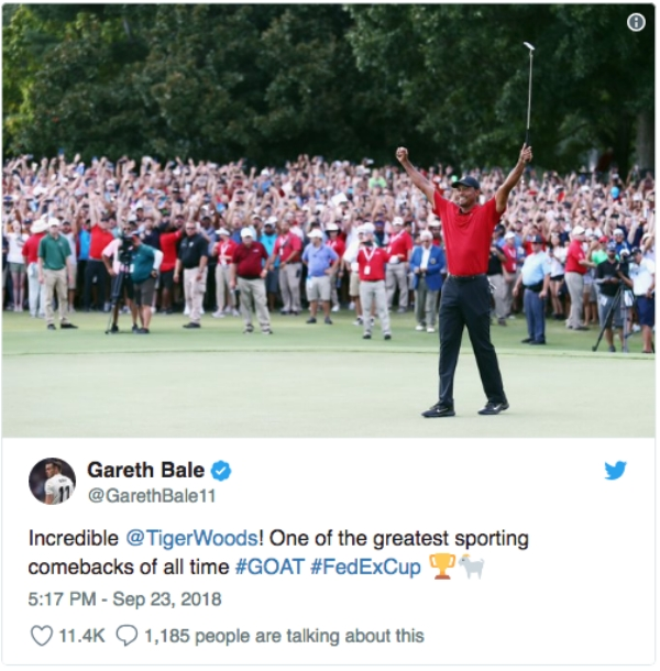 tiger woods wins first pga 2013 tweets reactions 12 Tiger Woods takes first PGA tour win since 2013 and social media goes wild (21 Photos)