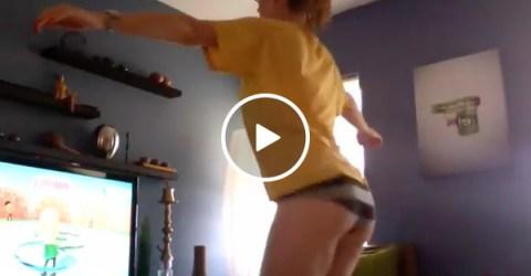 Man, I miss the Wii Fit... (Video)