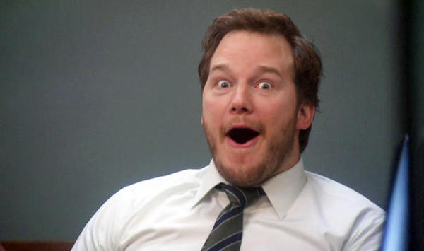 19 chris pratt andy surprise face These loopholes are like life hacks on steroids (15 Photos)