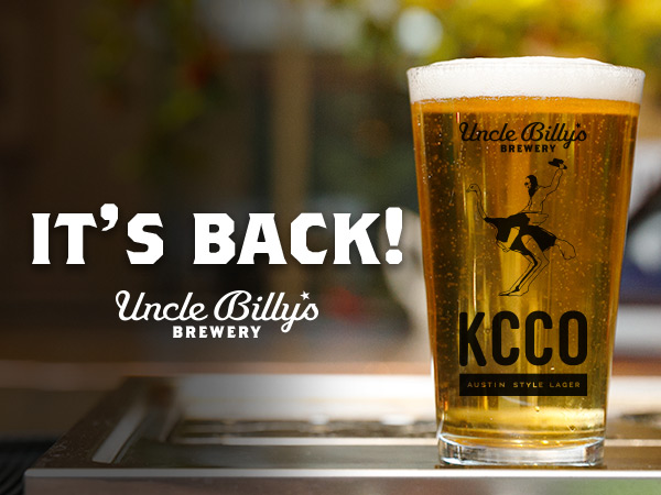 join us tonight in austin as kcco beer rises again 1 Join us tonight in Austin as KCCO Beer rises again!