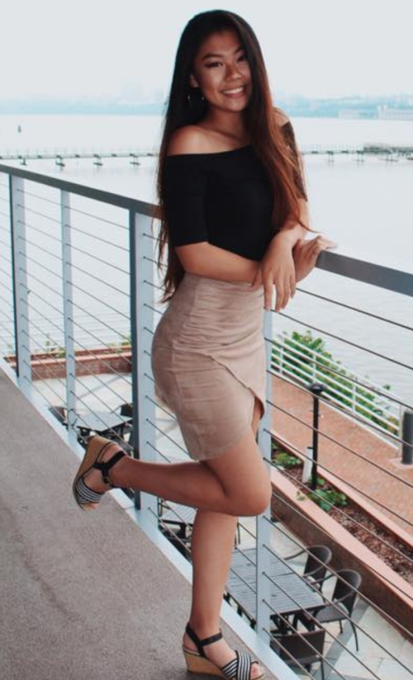asian hot girl in heels