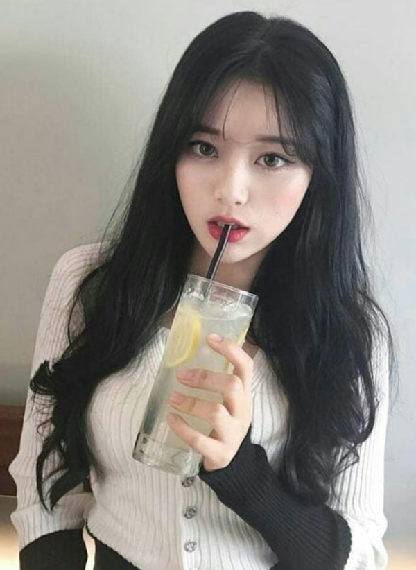 hot asian drinking