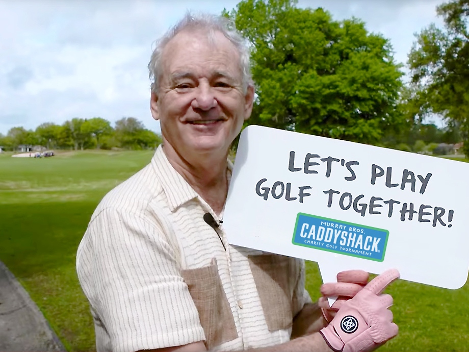 Grab your beer, win a day with Bill Murray (9 Photos)