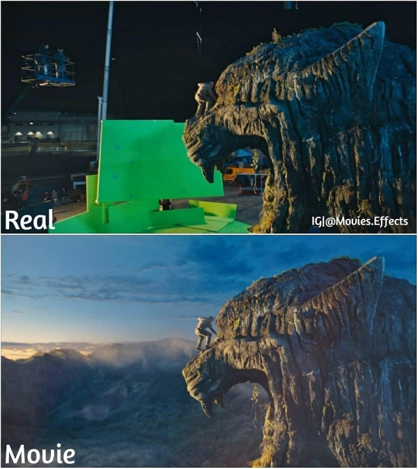 visual effects before and after shots show movie magic in the making 36 photos 13 Visual effects before and after shots show movie magic in the making (36 Photos)