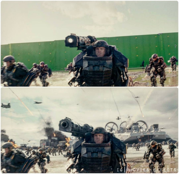 visual effects before and after shots show movie magic in the making 36 photos 15 Visual effects before and after shots show movie magic in the making (36 Photos)