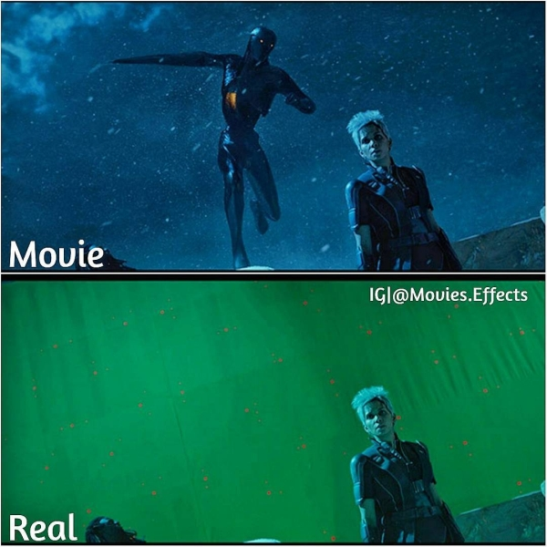 visual effects before and after shots show movie magic in the making 36 photos 21 Visual effects before and after shots show movie magic in the making (36 Photos)