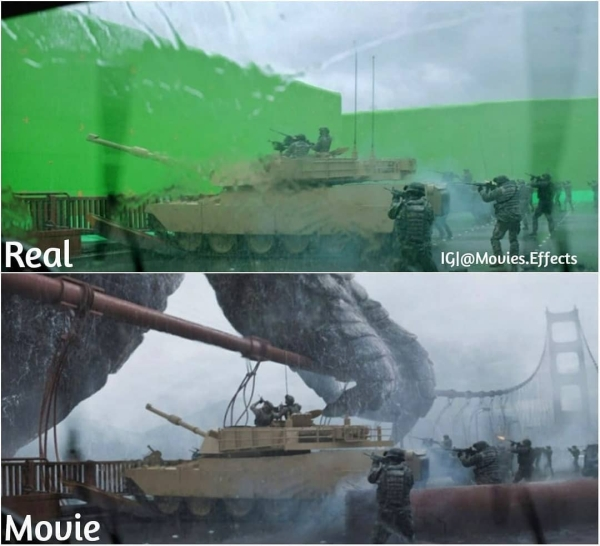 visual effects before and after shots show movie magic in the making 36 photos 25 11 Visual effects before and after shots show movie magic in the making (36 Photos)