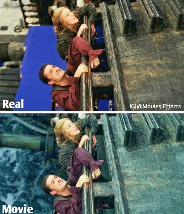 visual effects before and after shots show movie magic in the making 36 photos 25 5 Visual effects before and after shots show movie magic in the making (36 Photos)