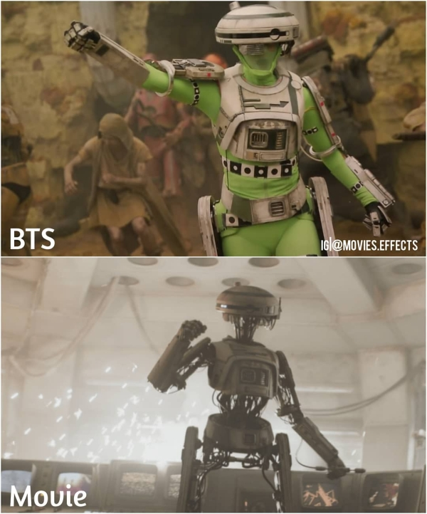 visual effects before and after shots show movie magic in the making 36 photos 3 Visual effects before and after shots show movie magic in the making (36 Photos)